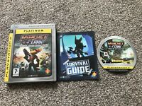 RATCHET & CLANK TOOLS OF DESTRUCTION SONY PLAYSTATION 3 PS3 GAME WITH MANUAL PAL
