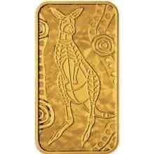 2008 Australia Kangaroo Dreaming  Rectangular Proof 10g Gold Coin - Perth Mint