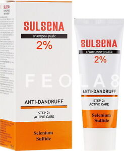 SULSENA Сульсена Anti-Dandruff Paste. Selenium Sulphide. 75 ml