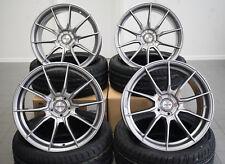 19 Zoll Ultralight Alu Felgen et43 5x112 Grau für Seat leon Cupra Audi RS3 Neu