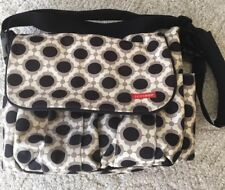 Skip Hop DASH Deluxe Messenger Or Shoulder Baby Diaper Bag BLOSSOM
