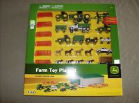 Ertl John Deere licensed giant 70 piece 1/64 scale farming toy play set 5+ new