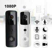1080P Smart Video Doorbell WiFi Wireless Intercom Door Ring Camera Bell Security