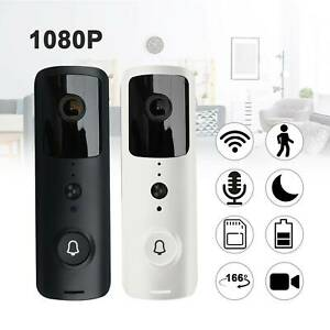 1080P Smart Video Doorbell WiFi Wireless Intercom Door Security Camera Bell
