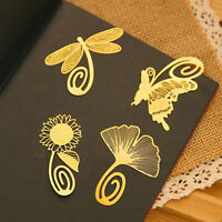 Note Metal Animal Bookmark Novelty Ducument Book Marker Label Stationery SP