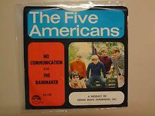 "FIVE AMERICANS:No Communication 2:05-Rain Maker 2:17-U.S. 7"" 1968 Abnak 128 PSL"