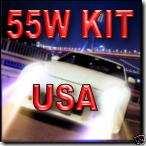 Premium 55W 50W H1 H3 H7 H11 9006 HID Kit 6000K 8000K