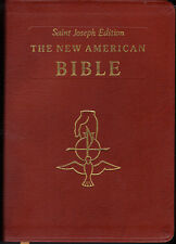 St Joseph Edition of The New American Bible, Very Good Condition