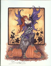Amy Brown Limited Edition Halloween Faery Fairy Print