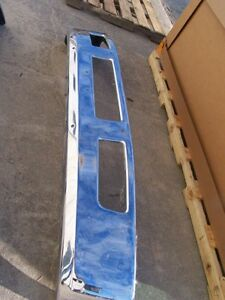 Ford F650 / F750 Chrome Bumper 2005 2006 2007 2008 2009 2010 2011 2012 2013 2014