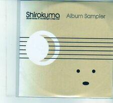 (DU596) Shirokuma Secret Moves At The Midnight Chess Club, Album Sampler - DJ CD