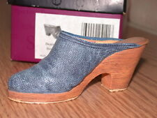 Just The Right Shoe Denim Blues 25058 Miniature Collectables