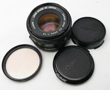 New ListingCanon Fd mount 50mm F/1.8 Camera lens W/ Filter & lenses Very Nice