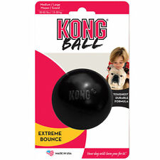 KONG Extreme Ball Small 16kg Dog Tough Natural Rubber for Power Chewers