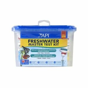 API Freshwater Master Test Kit pH No2 Tropical Fish Tank