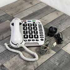 Geemarc AMPLIPOWER 50 - Extra Loud 60 dB Big Button Corded Telephone- UK Version