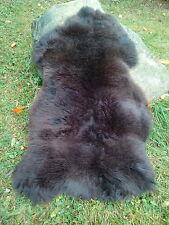 Haut éco peau de mouton d'agneau nature marron neuf XL 110CM