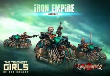 Raging Heroes The Iron Empire Warbikes Squad
