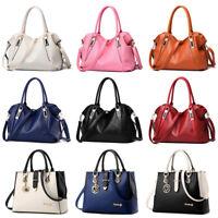 Women Messenger Handbag Shoulder Bag Ladies PU Tote Satchel Crossbody Purse
