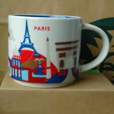 Starbucks City Mug Cup You are here Series YAH Paris France 14oz NEW
