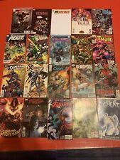 DC MARVEL COMIC BOOK LOT 20 Comics Deadpool Venom Superman Thor Spider-Man X
