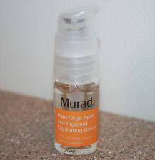 MURAD Rapid Age Spot & Pigment Lightening Face Serum 0.33 oz .33 / 10mL exp 2/22