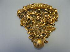 doré CONSOLE MURALE 23 cm étagère console cassé style ancien