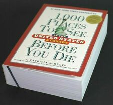 1,000 PLACES TO SEE BEFORE YOU DIE by Patricia Schultz  [Paperback]  ^ NEW ^