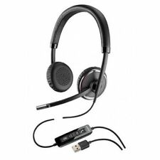 NEW Plantronics Blackwire C520-M Binaural USB Headset For PC & Carrying Case