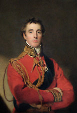 Large 13x19 Sir Arthur Wellesley 1st Iron Duke Painting Fine Real Canvas Print