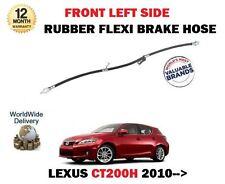 für Lexus CT200H 1.8 Hybrid 2010> NEU Linke Vorderseite Gummi Flex Bremsschlauch