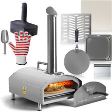 Deco Chef Portable Outdoor Pizza Oven w/ 2-in-1 Pizza & Grill Oven Functionality