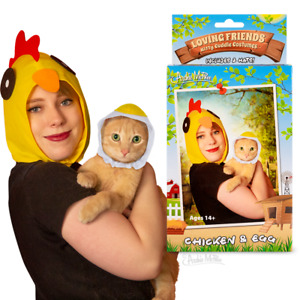 LOVING FRIENDS KITTY CUDDLE COSTUMES CHICKEN & EGG Custom Archie McPhee