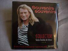 Johnny HALLYDAY CD collector 6 titres Souvenirs souvenirs-Photo pocket-NEUF