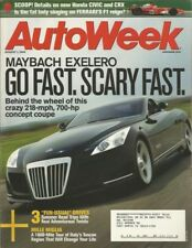 AUTOWEEK 2005 AUG 01 - CIVIC-CRX, MAYBACH EXELERO, '07 BRASIER, MILLE MIGLIA