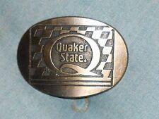 "Solid Brass Belt Buckle Quaker State - 3½"" x 2½"""