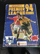 Merlin's Premier League 94 (1994) Sticker Album/Collection - 100% Complete