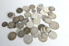 More details for vintage silver and silver content coins  - world coins - 205 grams