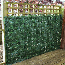 Artificial Hedge Ivy Leaf Garden Fence Roll Green Wall Balcony Privacy Screening