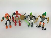 Lego Bionicle Lot of 4 Figures Collectible Different Characters
