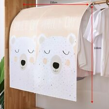 110*110CMClothes Bag Dust Cover Garment Suit Dustproof Wardrobe Storageprotector