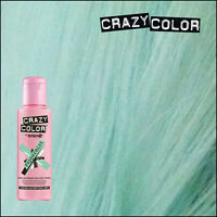 Crazy Color Colour Hair Dye Semi-Permanant 100ml PEPPERMINT