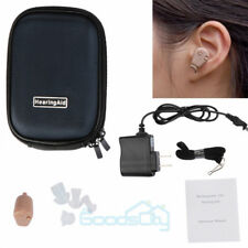 Rechargeable Mini Adjustable Tone In Ear Digital Hearing Aids Sound Amplifier US