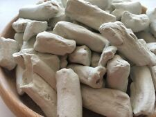 WHITE Pressed Clay chunks (lump) natural edible for eating (food), 1 lb (454 g)