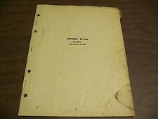 12181 John Deere Parts Catalog Pc-223 Stalk Cutter dated 1 52