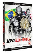 NEW & Sealed UFC 179 - Aldo vs. Mendes 2 DVD (2 Discs) MMA
