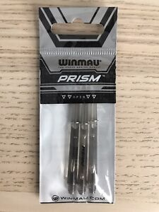 Winmau Prism 1.0 Dart Shafts - Medium - Clear Black