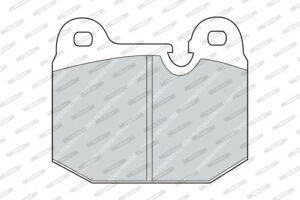 FERODO BRAKE PADS Front For BMW 318I E21 1980-1983 - 1.8L 4CYL - FDB192