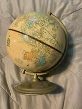 "Cram's Imperial World Globe  12"" tall including the base"