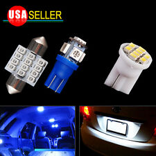 11PCS Blue LED Interior Package Kit Lights 2006-2012 For Honda Civic Coupe&Sedan